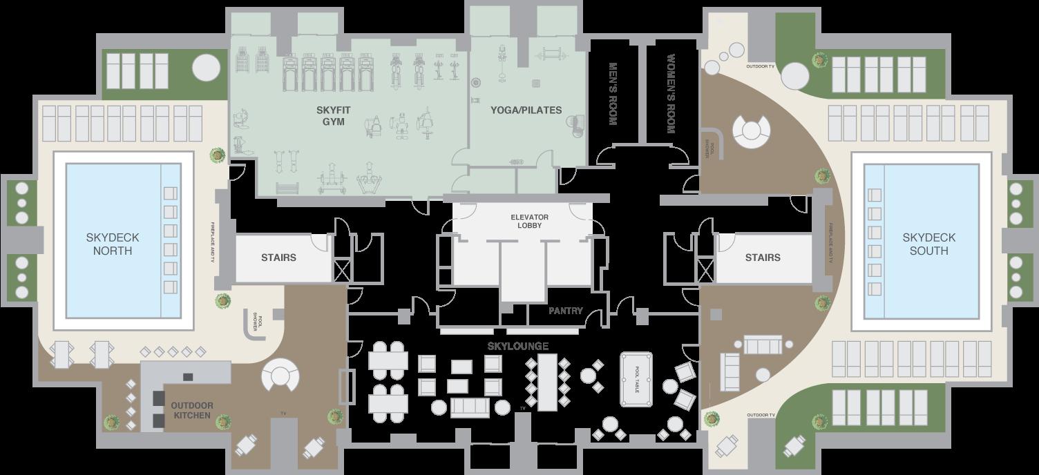 Hotel Gym Floor Plan Google Search Hospitality Floor