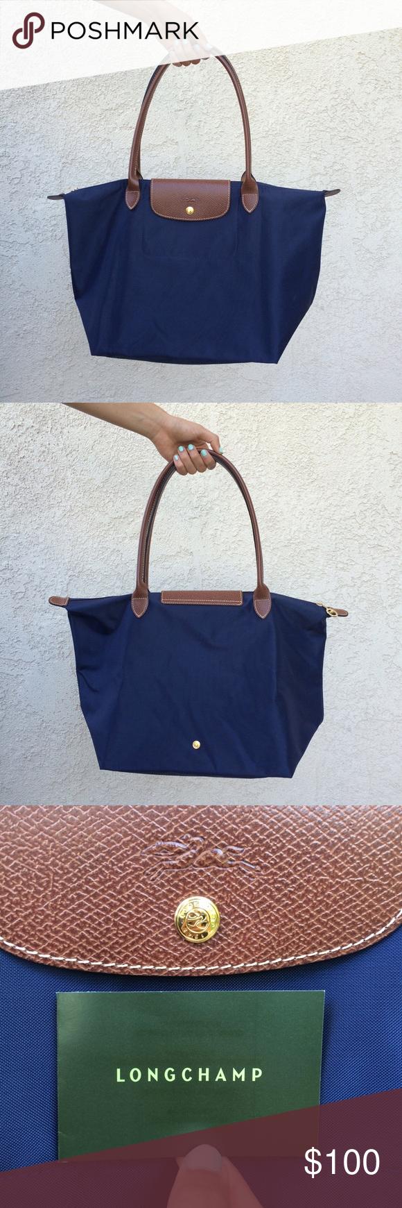 Ing This Longchamp Le Pliage Medium Handbag Navy Blue On Poshmark My Username Is Casualdetails