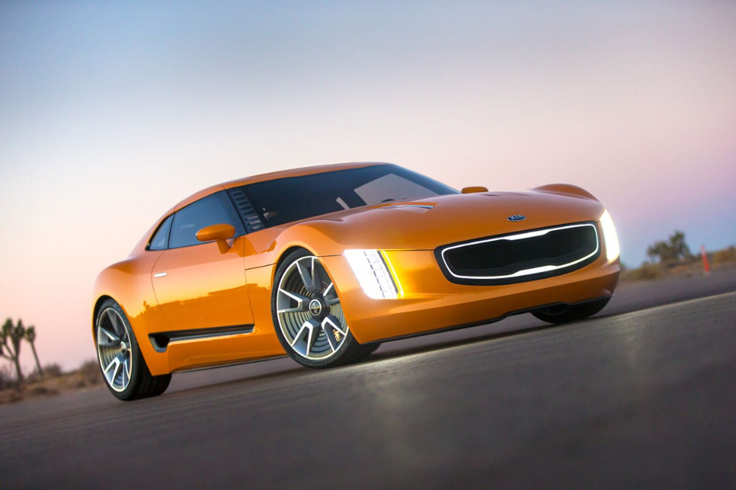 This gorgeous ferocious sports car is a kia