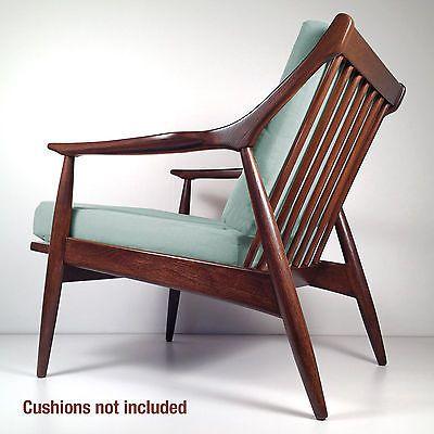 Mid Century Danish Teak Chair