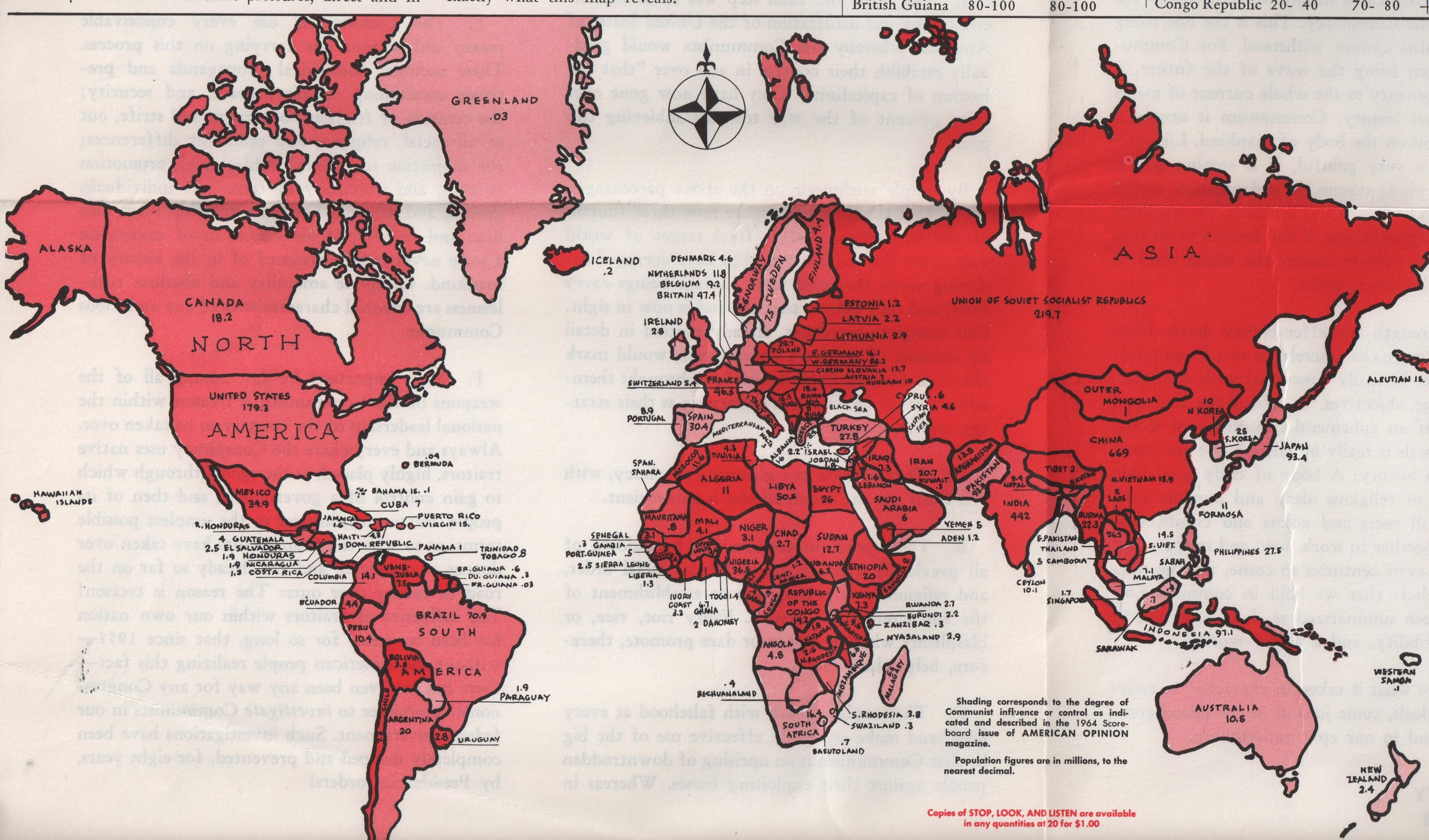 This is the map of the world