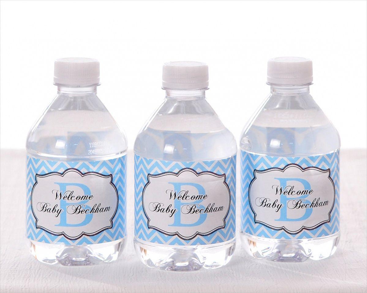 Waterproof Stickers Waterproof Labels Water Bottle Stickers Baby Shower Water Bottle Labels Baby Shower 20 Minnie Mouse Baby Shower