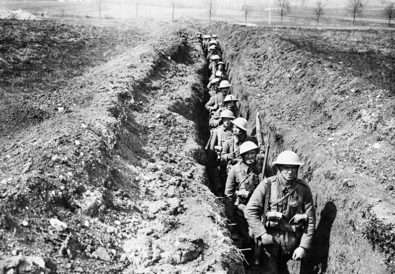 Trench Warfare Was First Invented During The Battle Of The Marne This Battle Was Located In Paris In Early September 1914 World War One World War I War