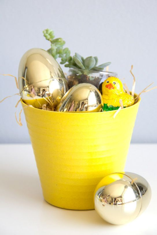 25 adorable new takes on easter baskets pinterest easter baskets 25 adorable new takes on easter baskets pinterest easter baskets easter and basket crafts negle Gallery