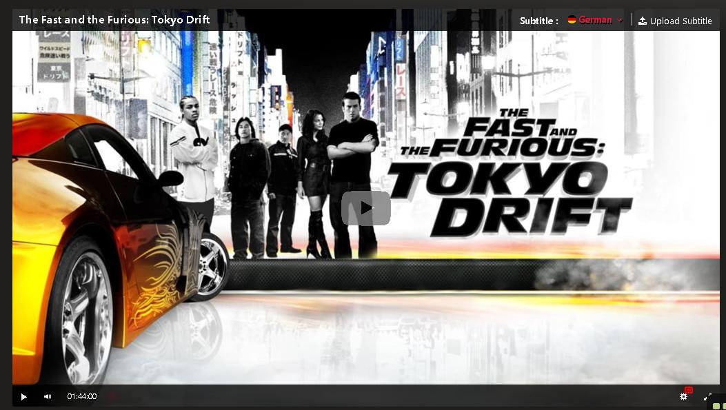 Tokyo Drift Ganzer Film Deutsch