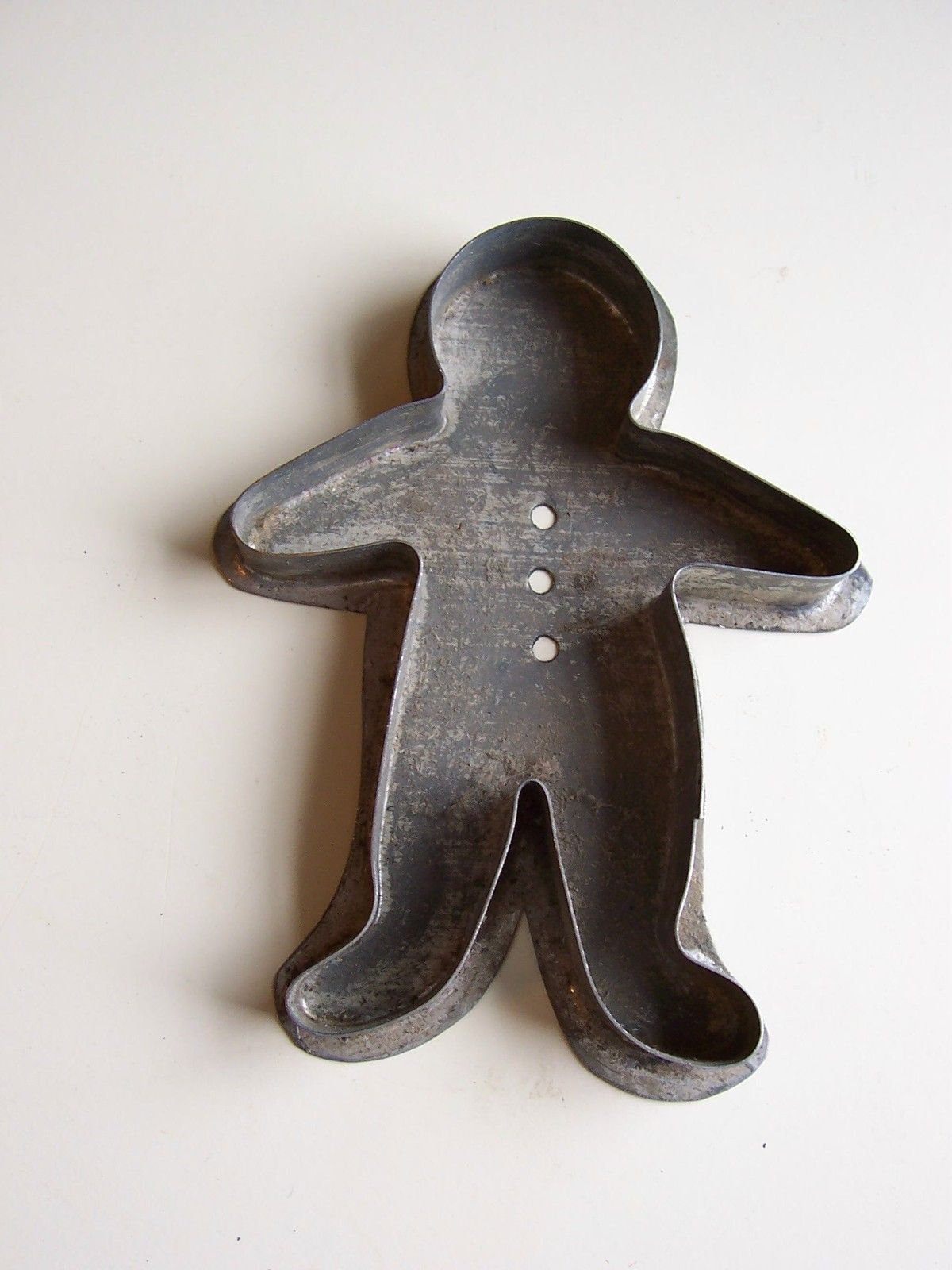 Antique Gingerbread Man Cookie Cutter. Ginger