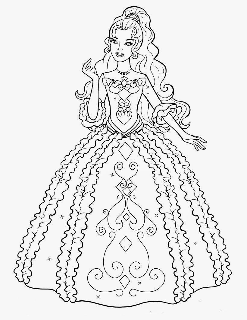 Resultado De Imagem Para Desenho Para Colorir Barbie Barbie Desenho Desenhos Para Pintar Desenhos Para Criancas Colorir