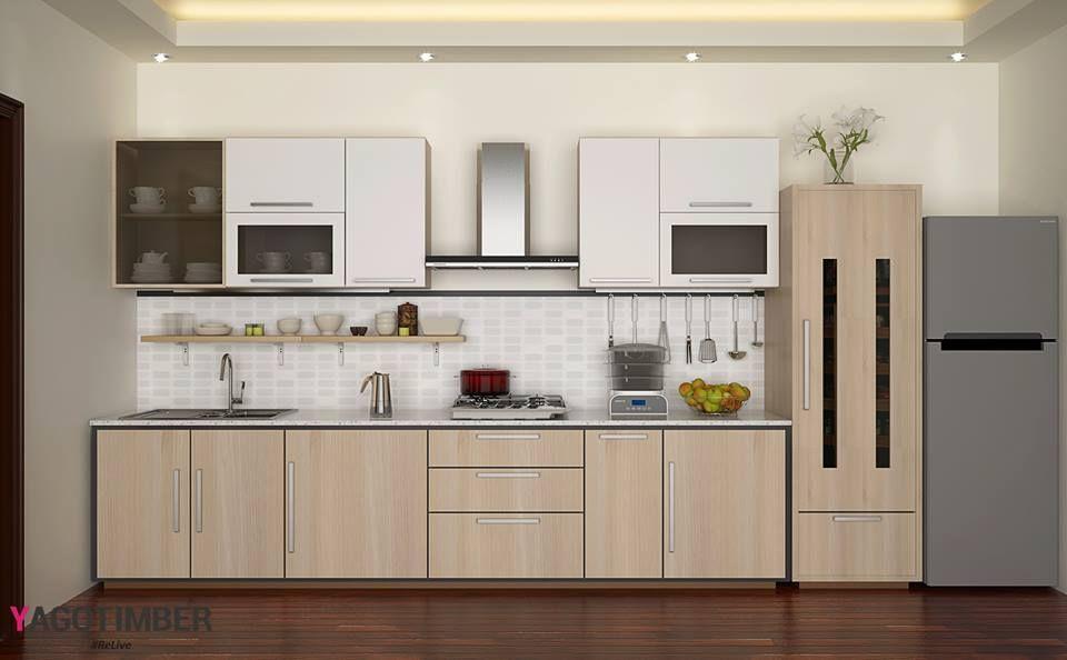 Consider These Yagotimberu0027s Straight #modularkitchen Prepossessing Best  Kitchen Design Books Design Decoration