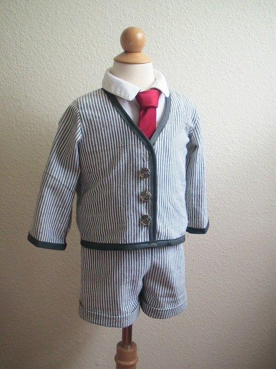 af616cefed3 Cuuuute little ringbearer. Cuuuute little ringbearer Searsucker Suit ...
