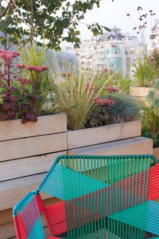 Molitor Rooftop Garden In Paris Piscine Mobilier Terrasse Et