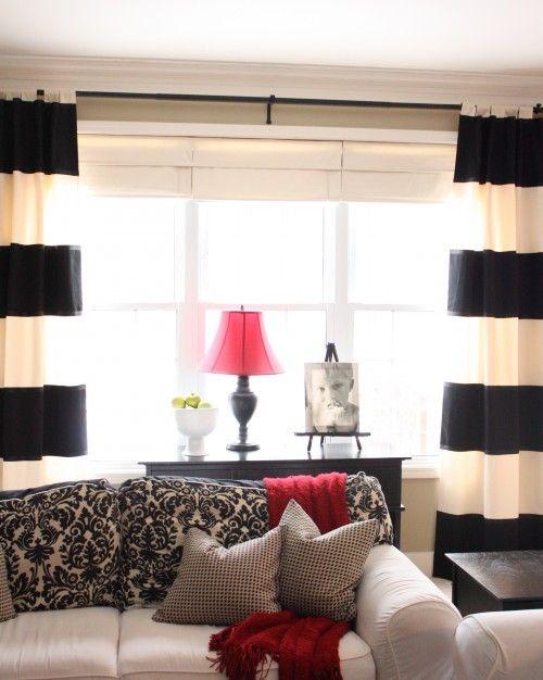Love The Streamline Furniture And Red Black Cream