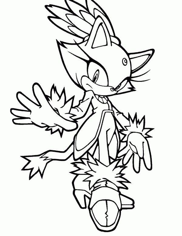 Desenhos para colorir e pintar para crianças Sonic 12 | Dibujos ...