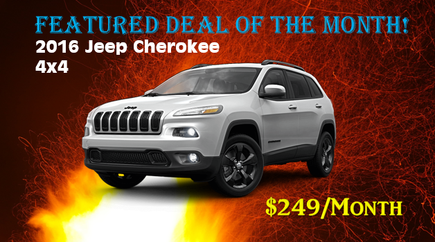 Brandl Motors June 2016 Jeep Lease Offer Stcloud Jeep Cherokee 4x4 2016 Jeep Jeep