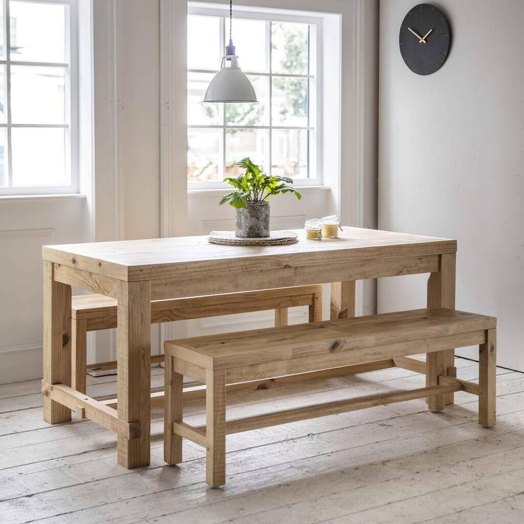 32+ Dining table with bench and chairs Inspiration