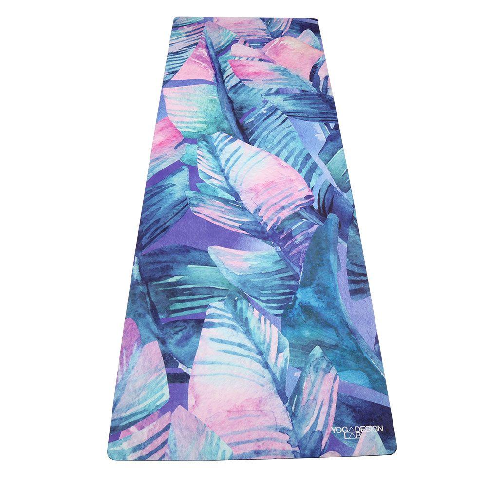 Combo Mat Tropika Yoga Design Lab Hot Yoga Towel Colorful Towel