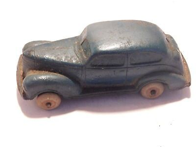 Antique Auburn Rubber Toy Car Plymouth 1939 39 Barn Find T
