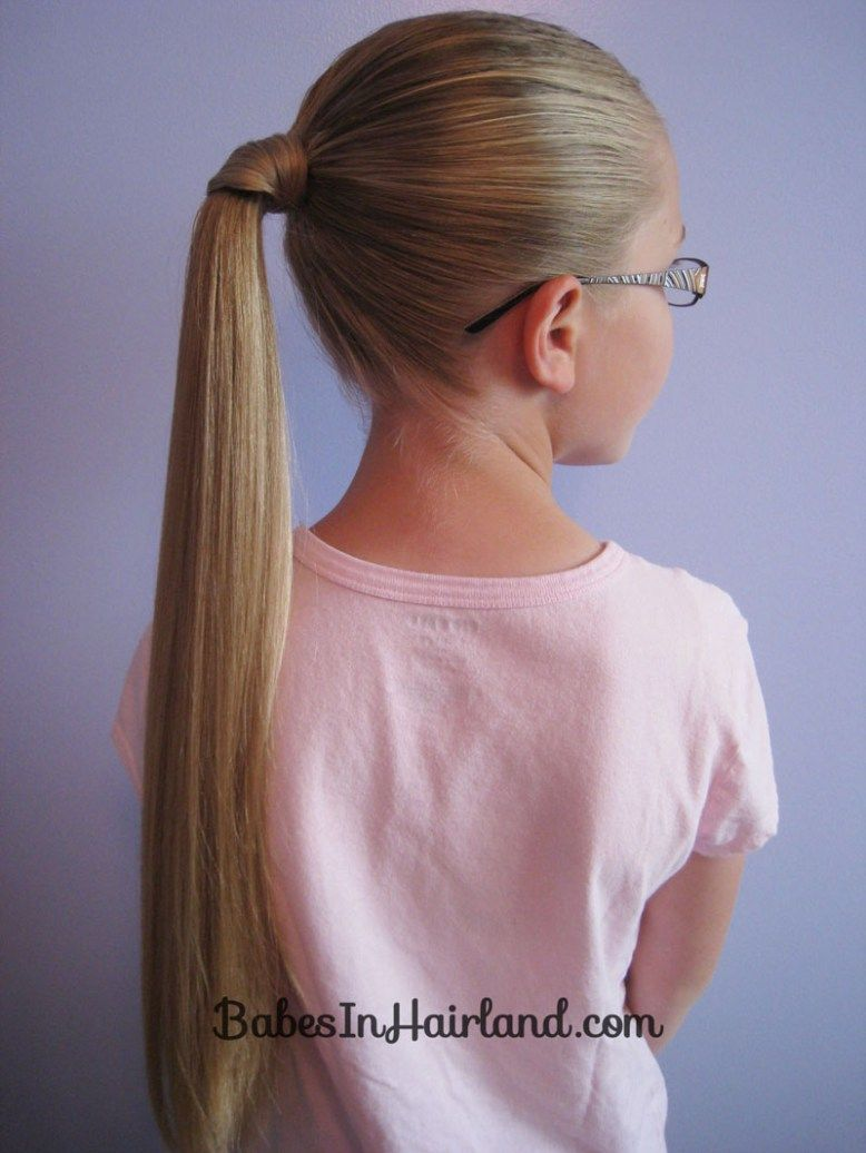 Hair wrapped ponytail our way hair pinterest hair hair