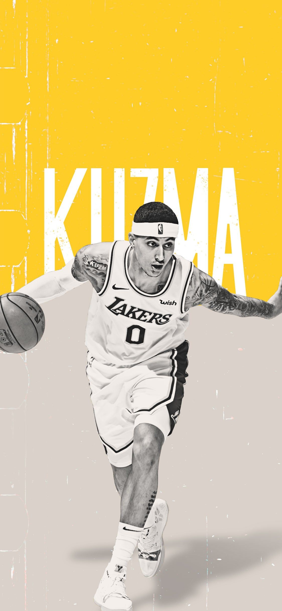 Lakers Wallpapers And Infographics In 2020 Lakers Wallpaper Kyle Kuzma Nba Wallpapers