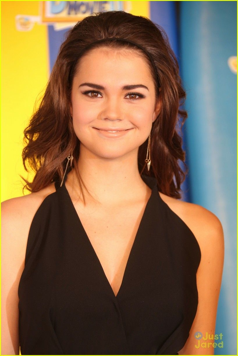 maia mitchell, she's my new celebrity crush, she's really pretty