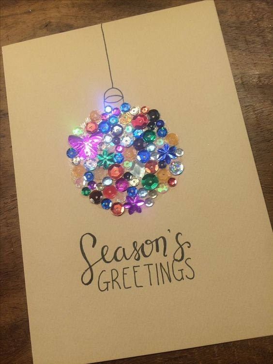 Easy DIY Christmas Card Ideas You'll Want to Send This Season -   19 holiday Cards diy ideas