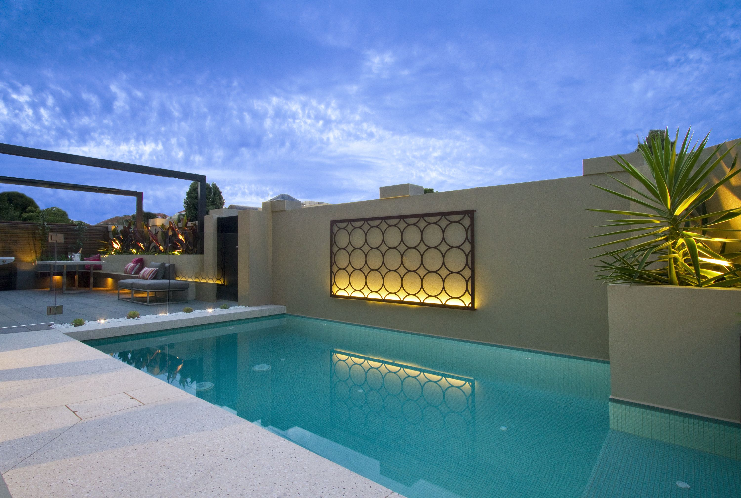 Image Ownership Of Baden Pools. We Love Our Metal Wall Art With LED  Lighting!