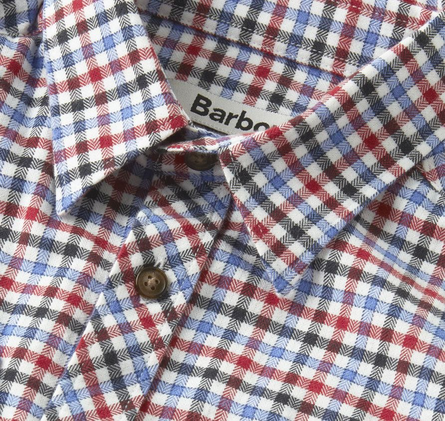 CSH0034RE54L | Shirts | Boys | All Collections | Barbour UK
