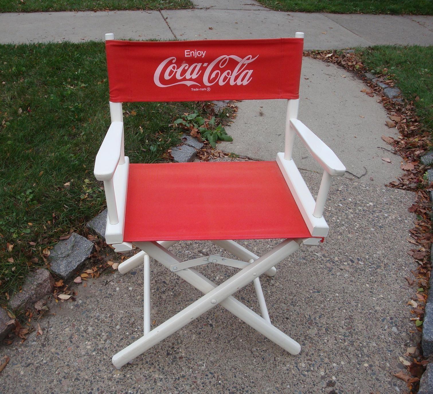 Vintage Coca Cola Director s Chair