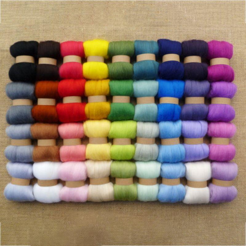 2018 New Wool Yarn 36 Colors Set Diy Hand Knitting Yarn 3g Per