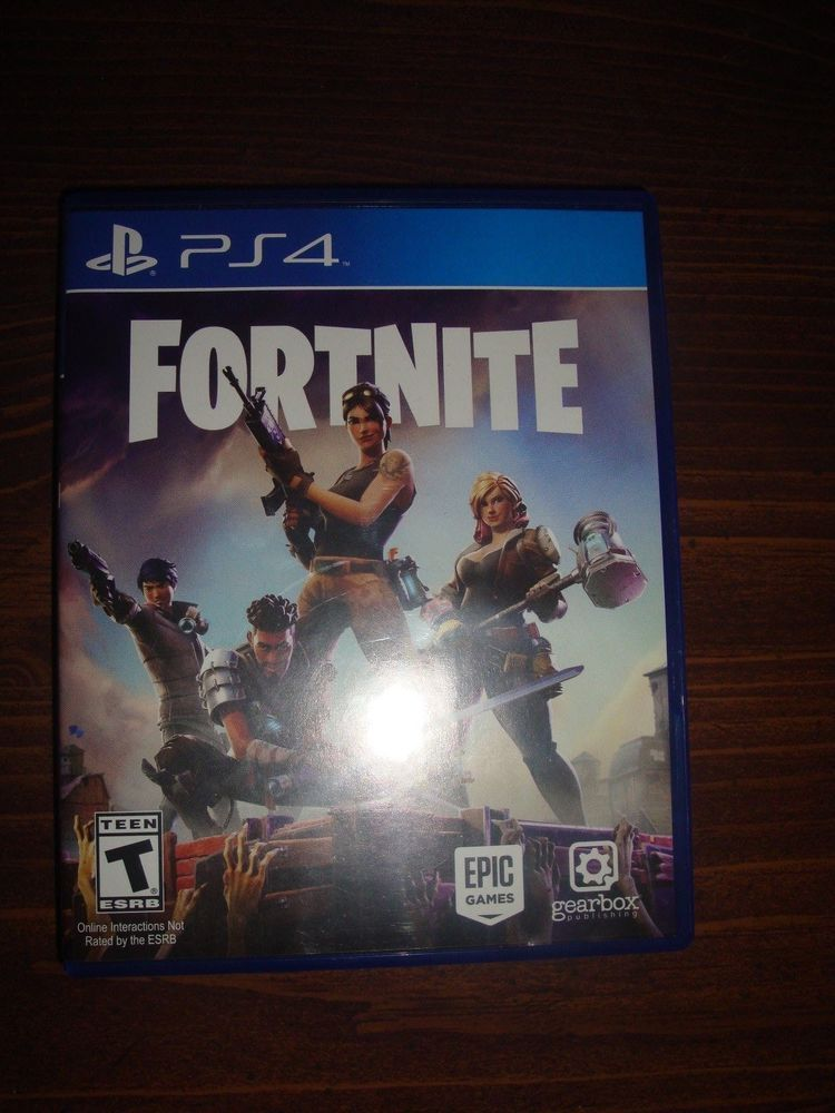 Rare Ps4 Fortnite Game Physical Disc Case Sony Playstation 4