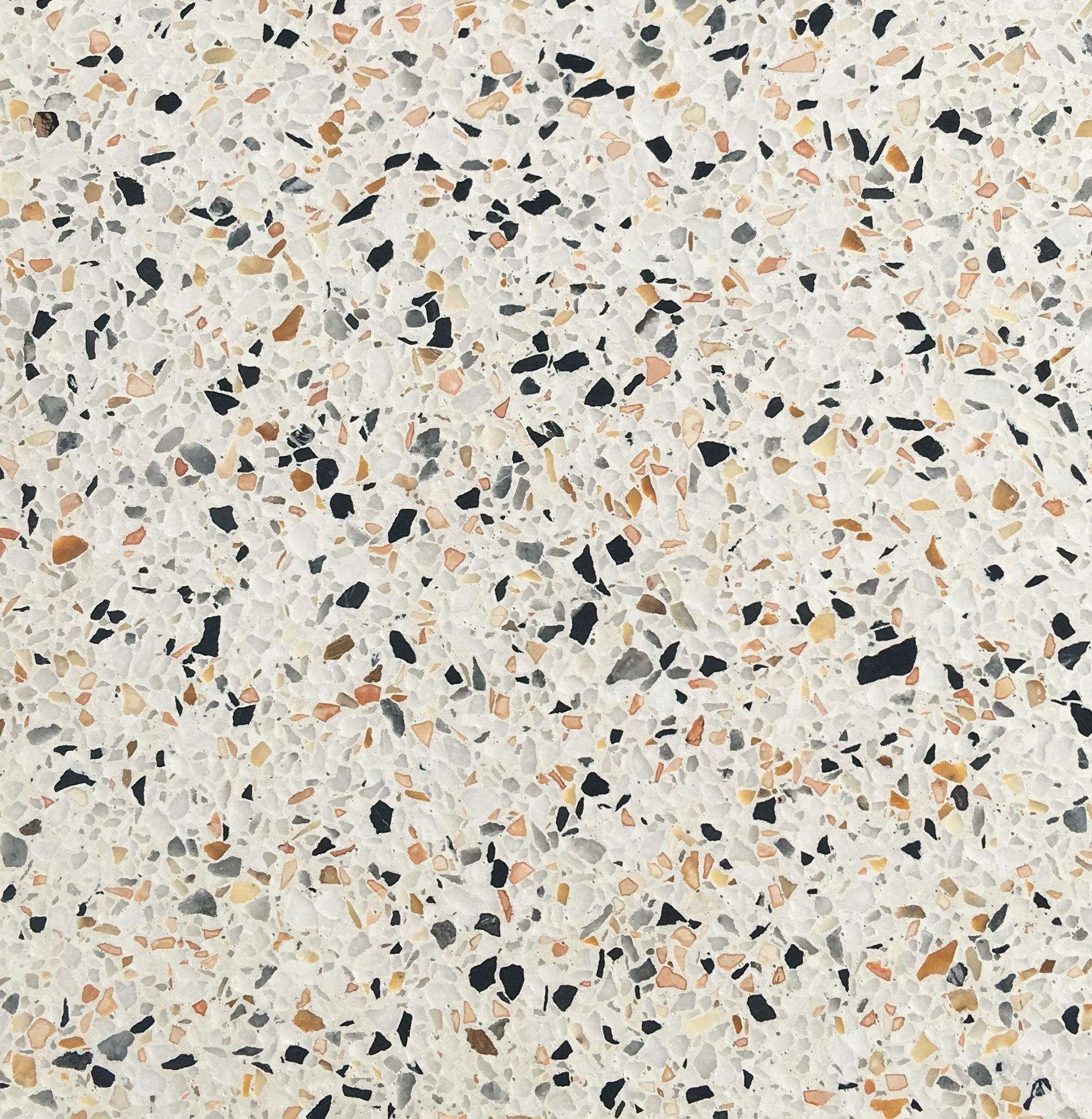 Terrazzo Paris - revêtement sol marbre coulé et poncé sur place | Terrazzo, Sol en marbre ...