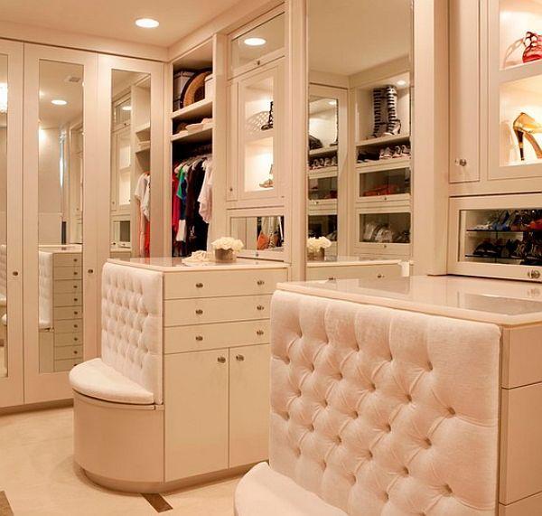 Dise o de closets de lujo casas decoracion dise o de for Diseno zapateras para closet