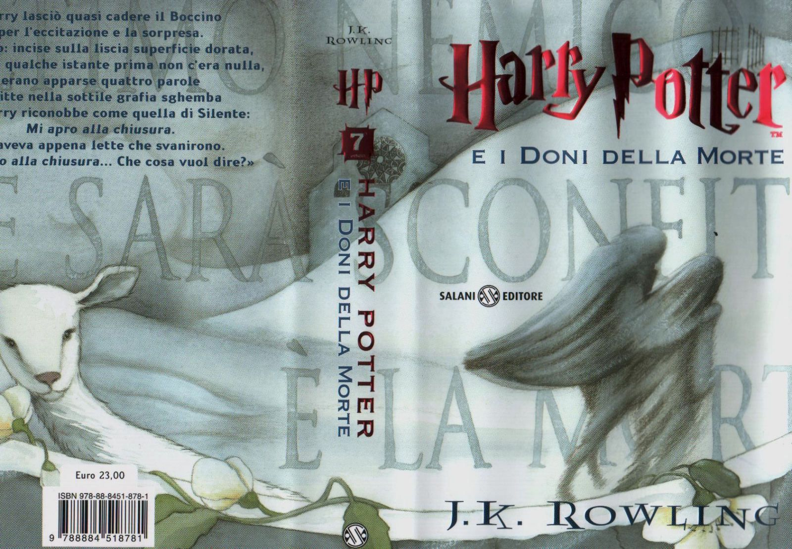 copertina italiana di harry potter e i doni della morte - libro 7 italia.jpg (1600×1109)
