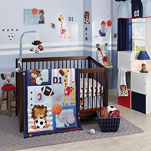 Lambs Ivy Future All Star Bedding Set Http