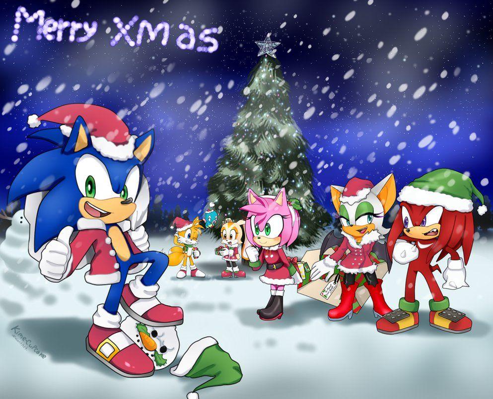 merry chrismas sonic the hedgehog - Sonic Hours Christmas Day
