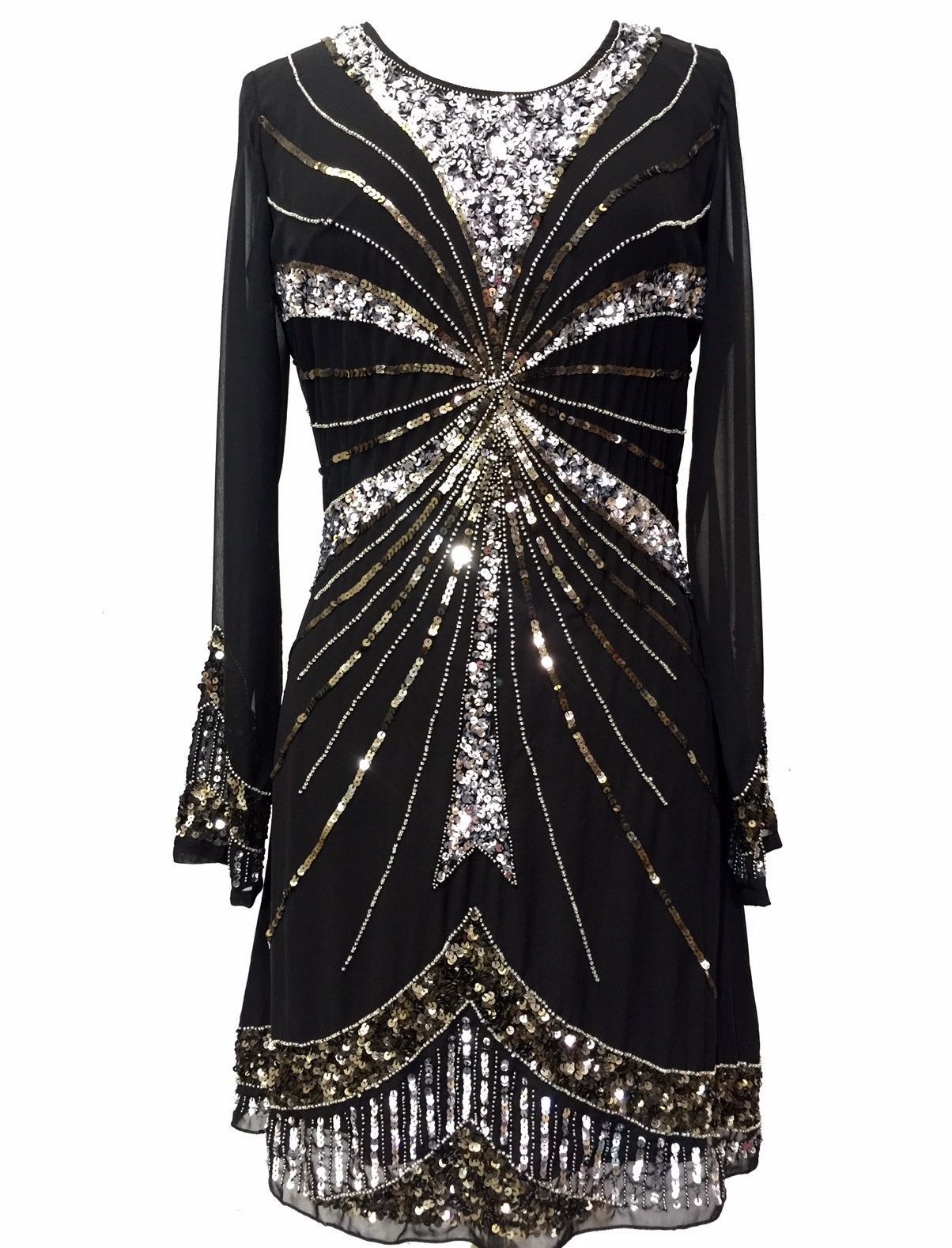 Ladies vintage dress gatsby dress evening dress s shift dress