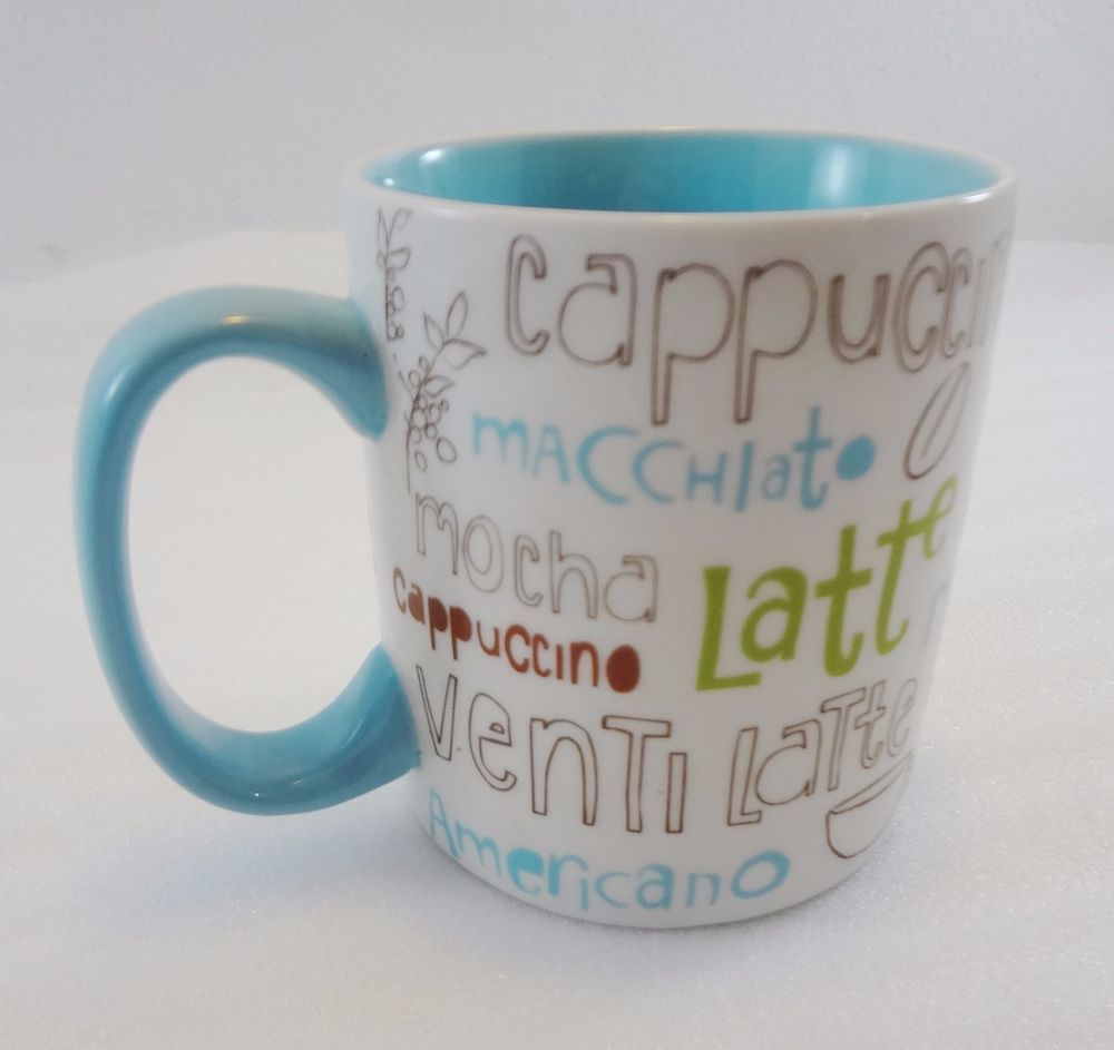 Starbucks Coffee 07 Mug 16 Oz Cappuccino Latte Venti