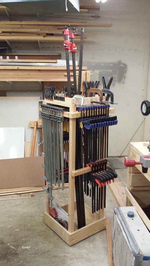 Workshop Development #94: Rolling clamp cart mostly done ...