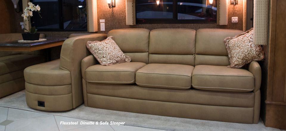 Rv Sofas Furniture Flexsteel Sofa Motorhome Villa Thesofa