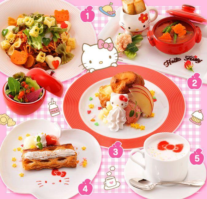 #HelloKitty Café (^O^☆♪ 名古屋に「ハローキティカフェ」が期間限定オープン!(名古屋セントラルパーク) | ニュース・イベント | サンリオ