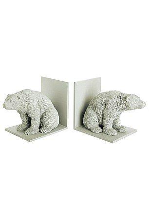 Abigail Ahern ~ Polar bear bookends