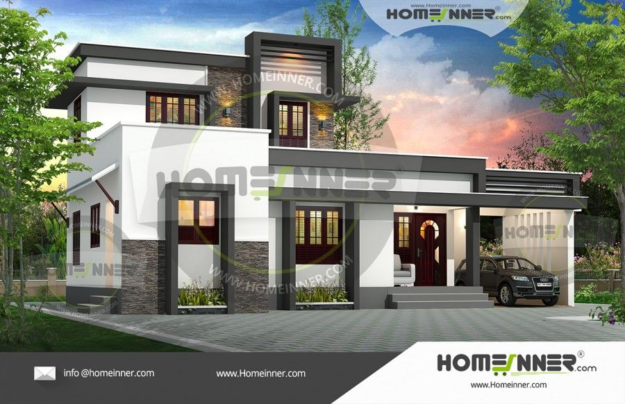 1389 Sq Ft 3 Bedroom Best House Models With Plans Architectural House Plans Two Story House Design Contemporary House Plans