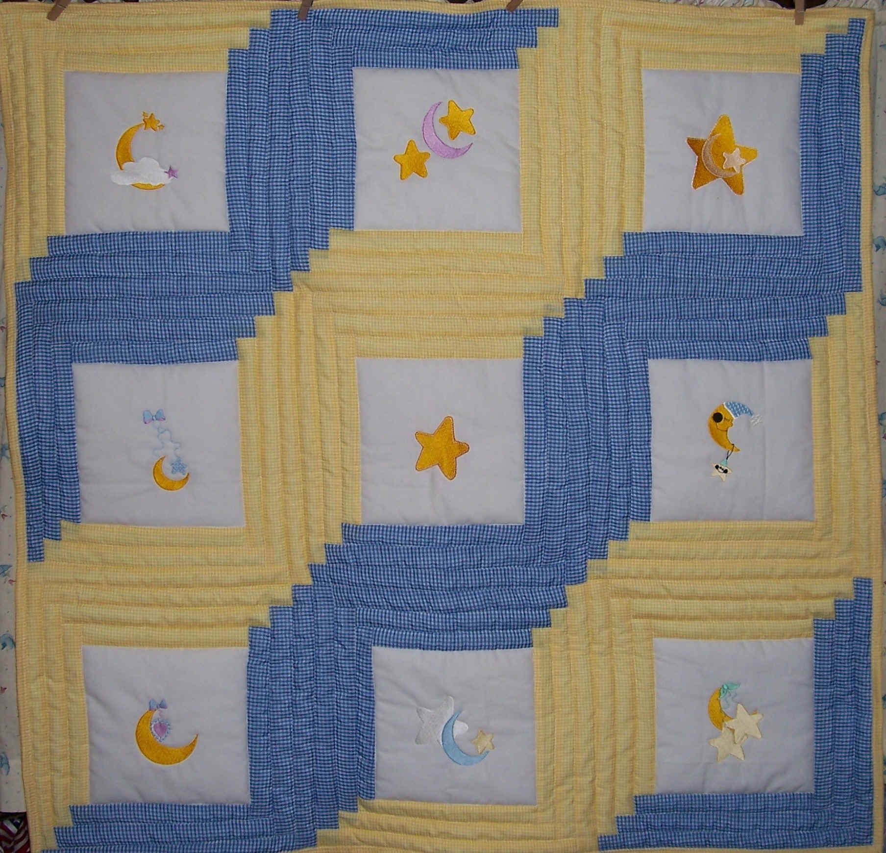 Moon & Stars Quilt - http://www.baby-quilts-etc.com/images ... : quilts etc - Adamdwight.com