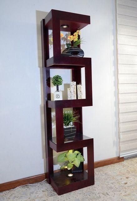 mueble esquinero con luz de madera mdf Despensa Pinterest