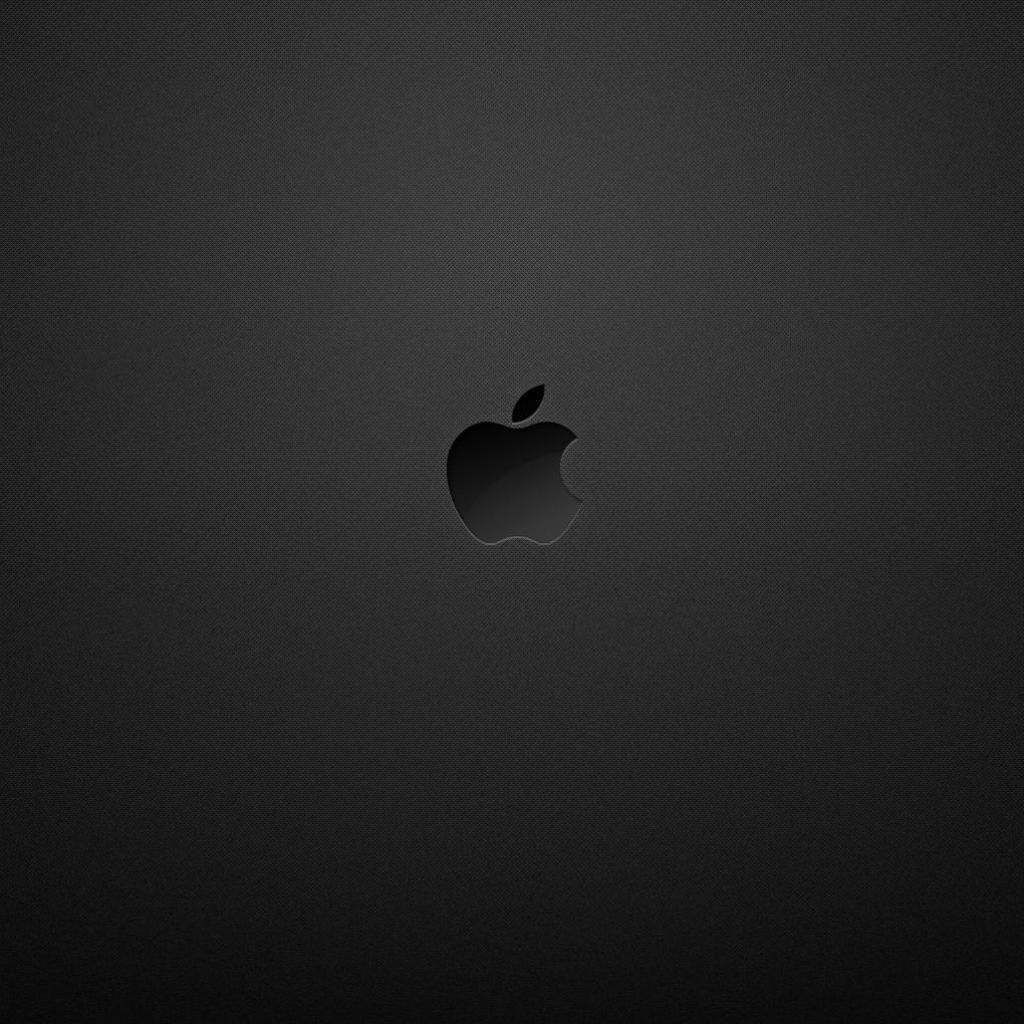 Black Apple Logo iPad Wallpaper iPad Wallpaper Walls
