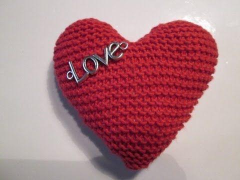 Tuto Tricot Apprendre A Tricoter Un Coeur Coeur Au Tricot