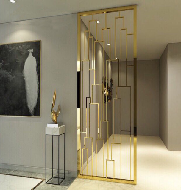 Metal Interior Design Metal Partitions Steel Screen With Images