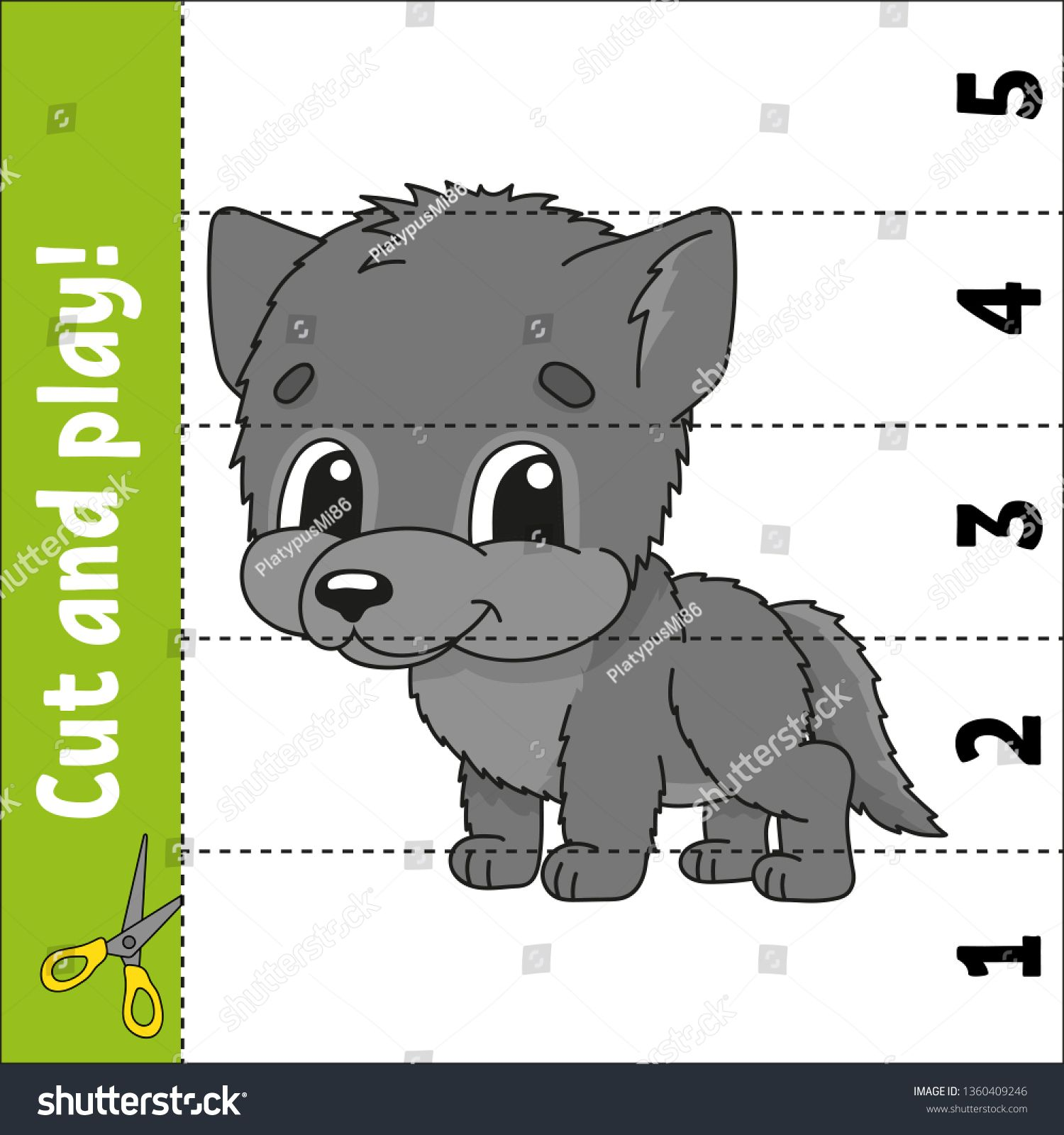 Learning Numbers Education Developing Worksheet Game For