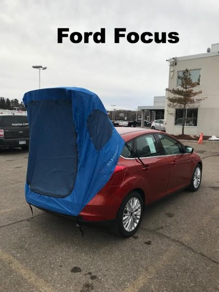 Habitents Prius Tent  For Hatchback Car Camping - Gallery