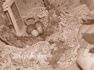 Mushrooms on garland...
