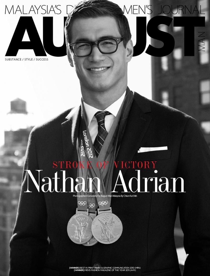, August Man Malaysia – August Man Malaysia December 2012 Online Covers with Nathan Adrian, Hot Models Blog 2020, Hot Models Blog 2020